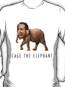 Nicolas Cage The Elephant T-Shirt