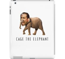 Nicolas Cage The Elephant iPad Case/Skin