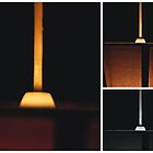 Light Shade Triptych by Jason M Rogers