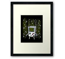 Tetrix Framed Print