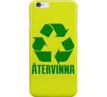RECYCLE iPhone Case/Skin