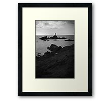 Jersey Lighthouse Framed Print