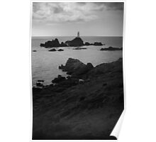 Jersey Lighthouse Poster