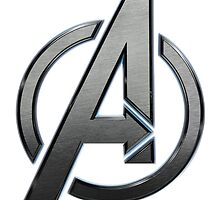 Avengers Logo by Robert-Nikola Filiou