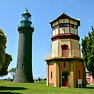Black Lighthouse Queenscliff by Steven  Agius