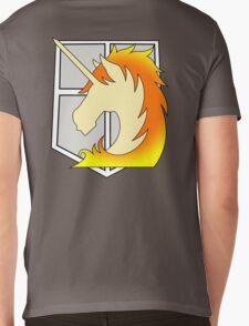 Rapidash Military Police Logo Mens V-Neck T-Shirt