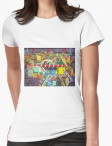 """""""Cosmic Consciousness"""" 7 Womens Fitted T-Shirt"""