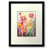 Flower Garden by Hannah Tiffin Framed Print