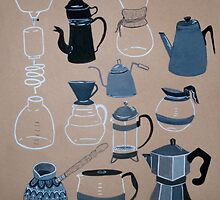 Coffee Pots by apcomfort
