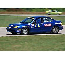 Racing  Photographic Print