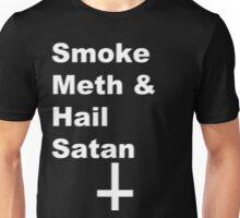 Smoke Meth & Hail Satan 2.0 Unisex T-Shirt
