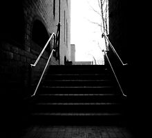 Down the Stairs by Damian Thomas