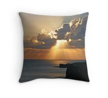 Sunset in Lanzarote Throw Pillow