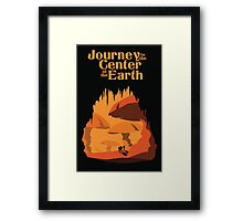 Journey to the Center of the Earth Framed Print