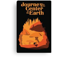 Journey to the Center of the Earth Canvas Print