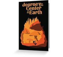 Journey to the Center of the Earth Greeting Card