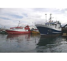 Fishing Boats in Donegal Photographic Print