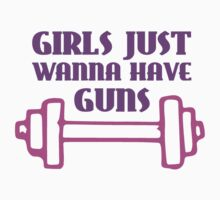 Girls Just Wanna Have Guns by TheShirtYurt