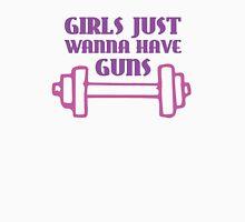 Girls Just Wanna Have Guns Womens Fitted T-Shirt