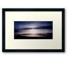 Cloud Sunset Framed Print