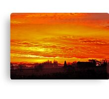 Sunrise over Oregon Canvas Print