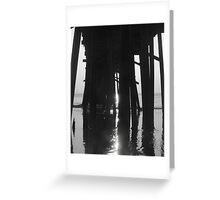 Pier Poles Greeting Card