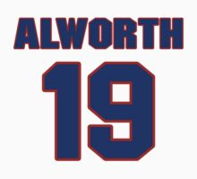 National football player Lance Alworth jersey 19 by imsport