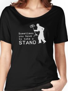 Take a Stand Women's Relaxed Fit T-Shirt