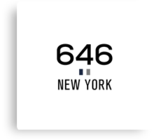 646 - New York Pride Canvas Print
