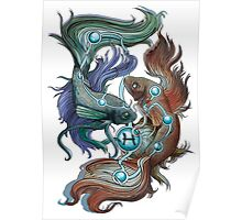 Pisces Star Sign Poster