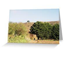 Green Gulch Farm, Marin County, Ca Greeting Card