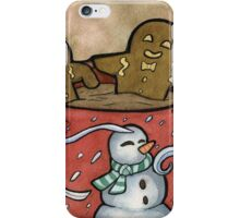 Relaxing Gingerbread iPhone Case/Skin