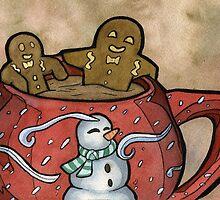 Relaxing Gingerbread by Jammie Schlosser-Barker