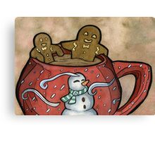 Relaxing Gingerbread Canvas Print