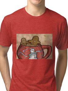 Relaxing Gingerbread Tri-blend T-Shirt