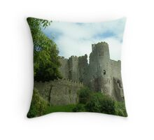 castle turrets Throw Pillow