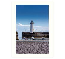 The Lighthouse (2) - Lovely Print of an Irish Lighthouse Art Print