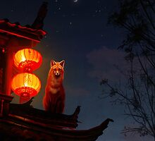 Shrine Fox by sophieeves90