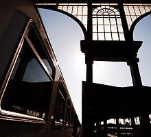 Budapest Railway Station Blues Nyugati by ragman