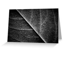 Be Leaf Greeting Card