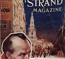 Sherlock Holmes  - The Strand Magazine Cover - Vintage Print by verypeculiar