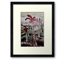 Blood of the Earth (Mixed Media)- Framed Print