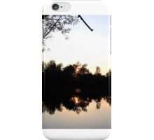 Sunset In The Woods iPhone Case/Skin