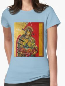 """""""Byzantine Construction"""" 2 Womens Fitted T-Shirt"""