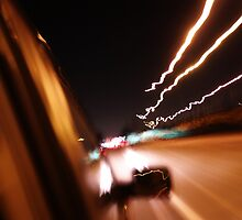 Seventy Miles per Hour at Night by Jake Kelly
