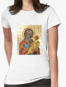 """""""Byzantine Construction"""" 3 Womens Fitted T-Shirt"""