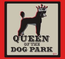 Standard Poodle Queen of the Dog Park Kids Clothes