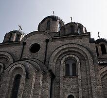Kosovo Monastery by Brad Staggs