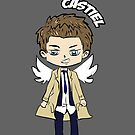 Castiel the Angel by Becpuss
