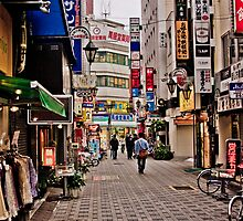 Tokyo Postcard I - Extreme Lightroom Processing by shadow2